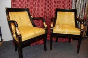 Fauteuil Empire Dauphin